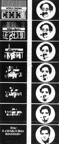 Groucho Marx morphing into Elvis Presley