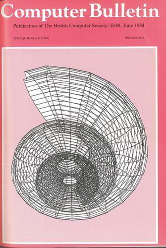 June 1984 Computer Bulletin cover