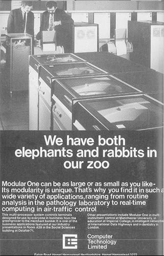 Computer Technology ad (1970s)