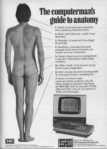 EMI & SE Computer Peripherals ad (1970s)