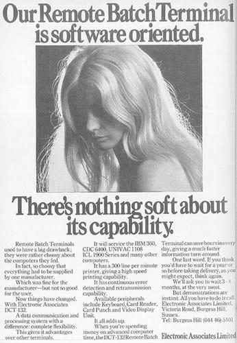 Electric Associates ad (1970s)