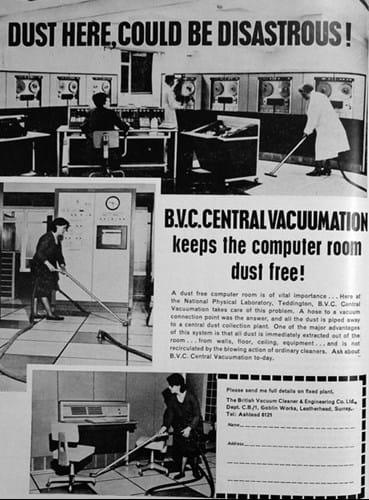 Dust ad (1960s)