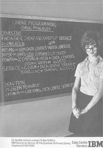 IBM Advert (1970s)