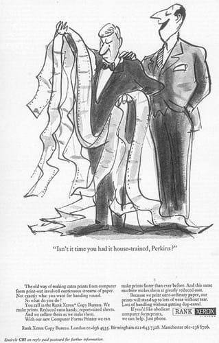 Rank Xerox Ad (1970s)