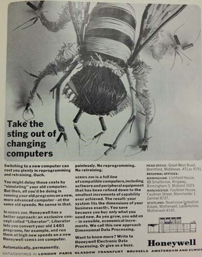 Honeywell ad (1960s)