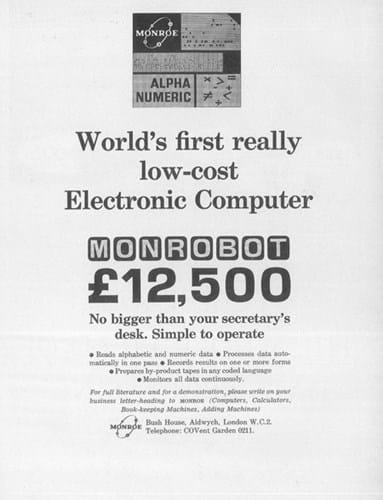 Monroe ad (1960s)
