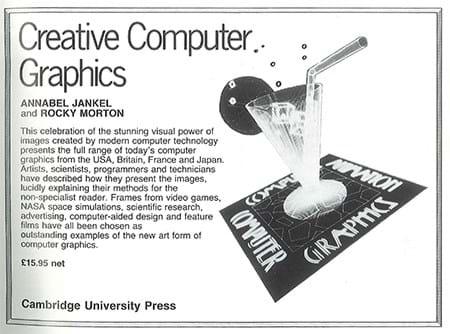 Creative Computer Graphics ad (1980s)