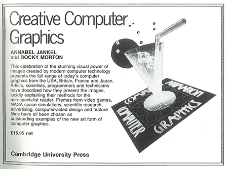 Creative Computer Graphics ad (1980s)
