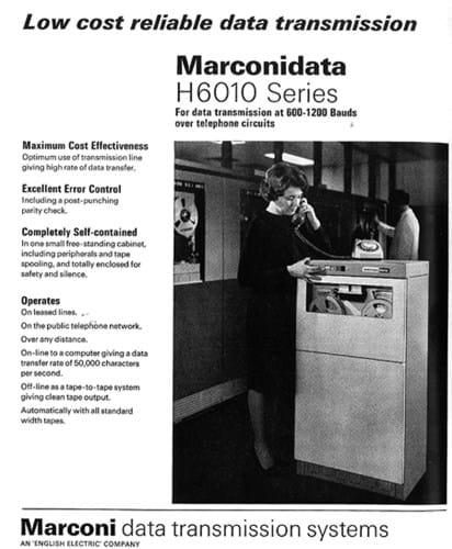 Marconidata ad (1960s)