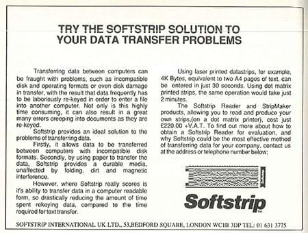 Softstrip ad (1980s)