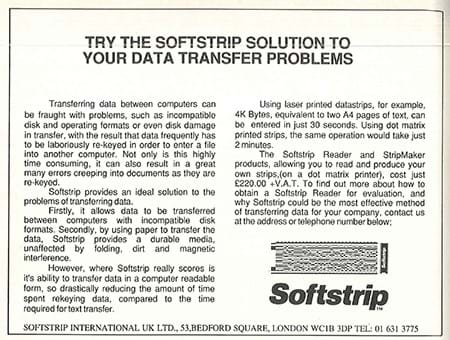 Softstrip ad (1980s)