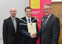 The School of Electronics, Electrical Engineering and Computer Science at Queen's University annual Prize Giving Ceremony 2014