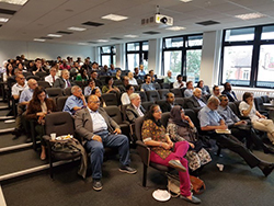 Attendees At The Event Held At The University Of West London