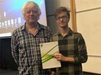 Brett Taylor - Kent Branch Student Prize Winner 2018