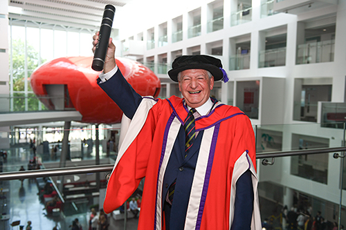 Michael Grant Awarded Honorary Degree Of Doctor Of Technology