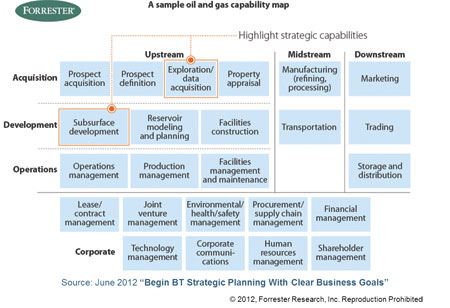 Forrester capability map