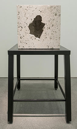Null Object 1 by Jon Barraclough 2014 photographed as part of The Negligent Eye at Bluecoat Gallery