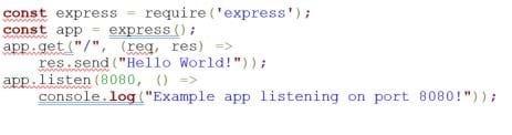 Node.js script