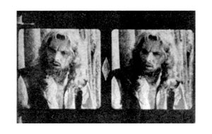 Stereo frames from Robinson Crusoe (1947)