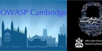 ARU CSNRG, OWASP Cambridge & BCS Cybercrime Forensics November Chapter Meeting