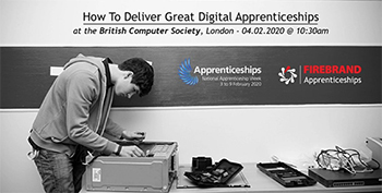 Firebrand / BCS's How To Deliver Great Digital Apprenticeships