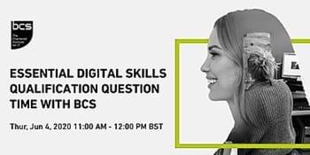 Webinar: Essential Digital Skills Qualification Question Time with BCS