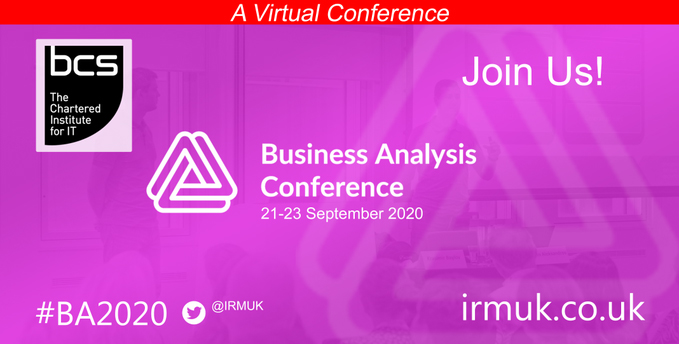 Webinar: Business Analysis Conference Europe 2020