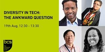 Webinar: Diversity in Tech – The awkward conversation