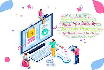 Security of Apps infographic